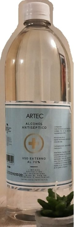 ALCOHOL AL 70% - 1000 ML