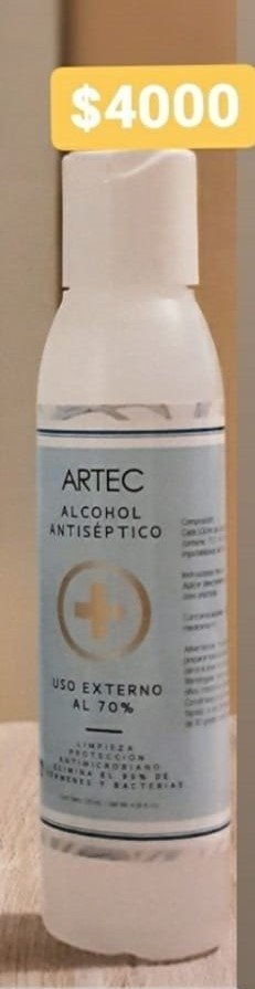 ALCOHOL EN SPRAY AL 70% - 130 ML