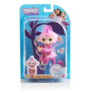 FINGERLINGS GLITTER MONKEY (ROSE) en internet