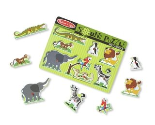 ZOO ANIMALS SOUND PUZZLE en internet