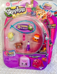 SHOPKINS PACK x 5 (SEASON 5)