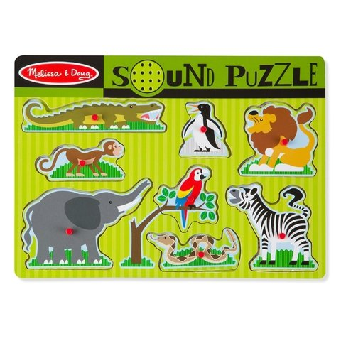 ZOO ANIMALS SOUND PUZZLE - comprar online