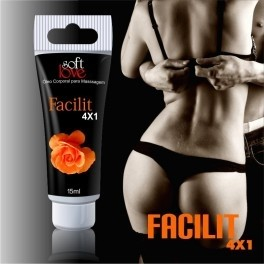 Facilit Bisnaga 4x1 15ml Soft Love - comprar online