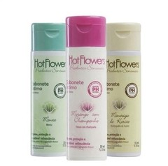 Sabonete íntimo 35ml Hot Flowers