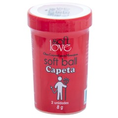 Soft Ball Cereja Ice 2 Unidades Soft Love na internet
