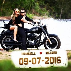 Placa de carro para SAVE THE DATE