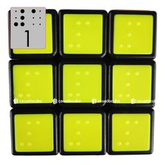 3x3 Cube4you Braille Tiled - loja online