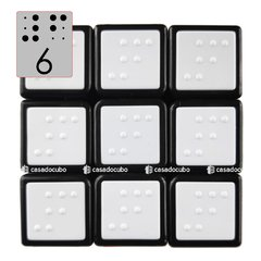 3x3 Cube4you Braille Tiled