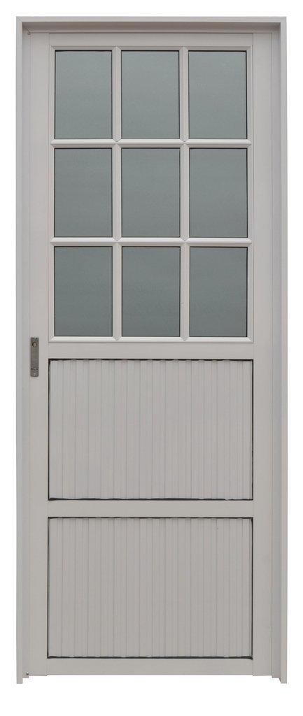 Puerta aluminio 1 2 vidrio comprar en gaesa - Puertas de aluminio con cristal ...
