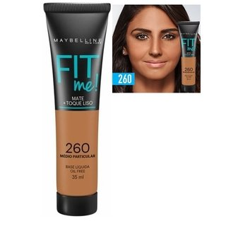 Base Líquida Fit Me - Maybelline - Divas na Web