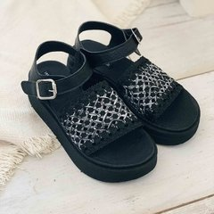 Sandalias Tracy Black & White - RUD