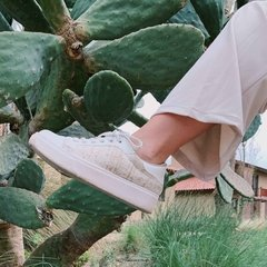 Sneakers Tweed Beige en internet