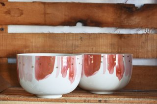 Bowl Stars Red Anthropologie