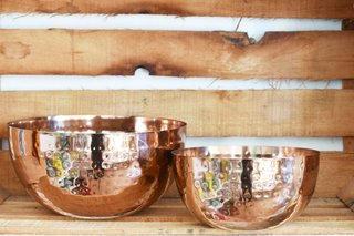 Bowls Copper