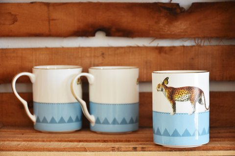 Taza Tigre Anthropologie
