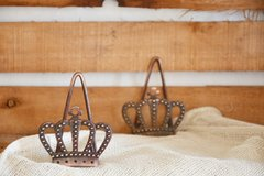 Servilletero Crown
