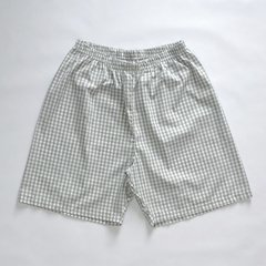 Pijama Masculino Xadrez Wake Up Manga Curta e Shorts - Tear Pijamas