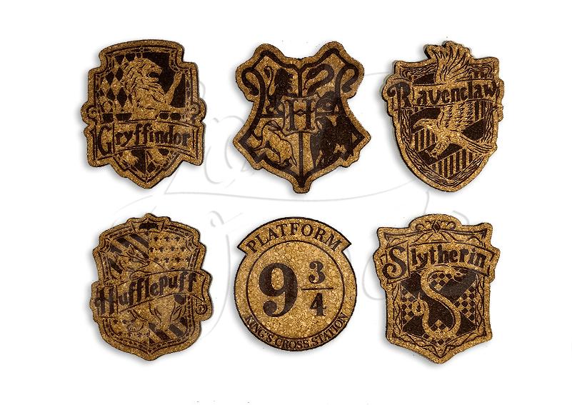 Set Posavasos x6 Harry Potter