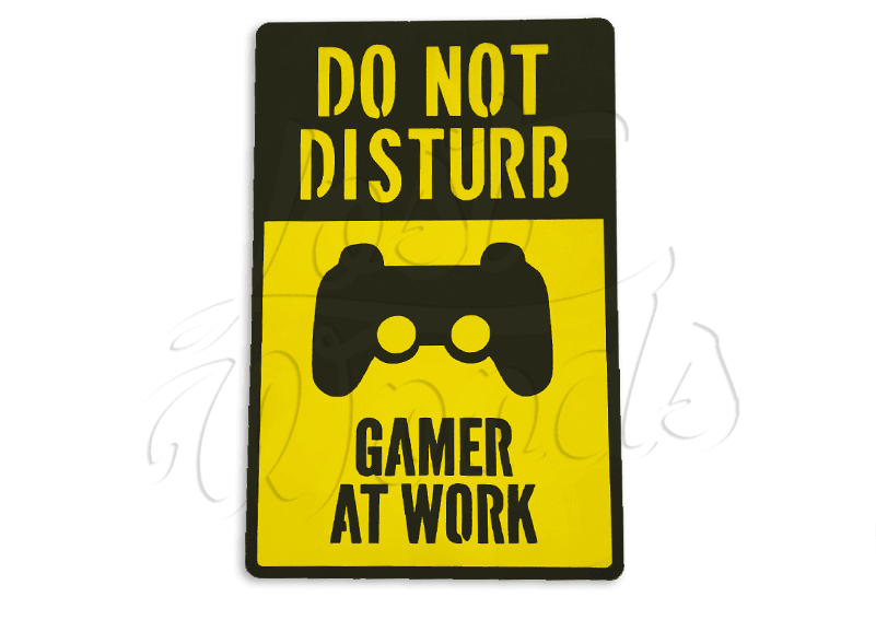 Cuadro Gamer at Work