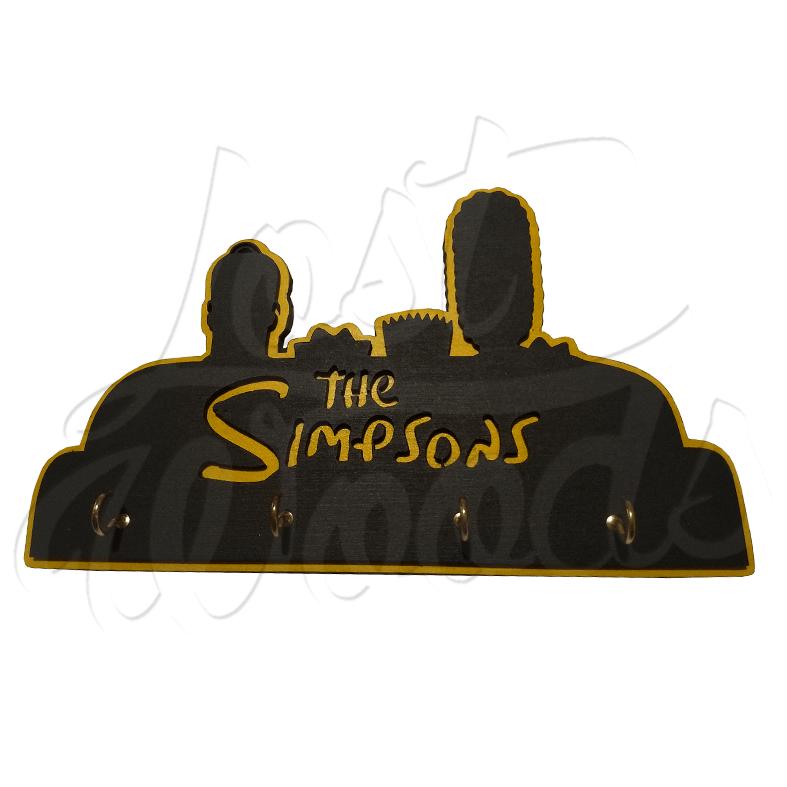 Cuelgallaves Simpsons