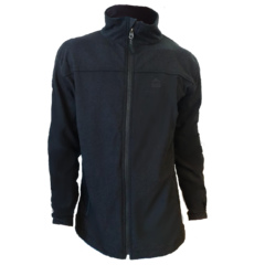 Campera Polar Alumino NEGRO BLACK ROCK