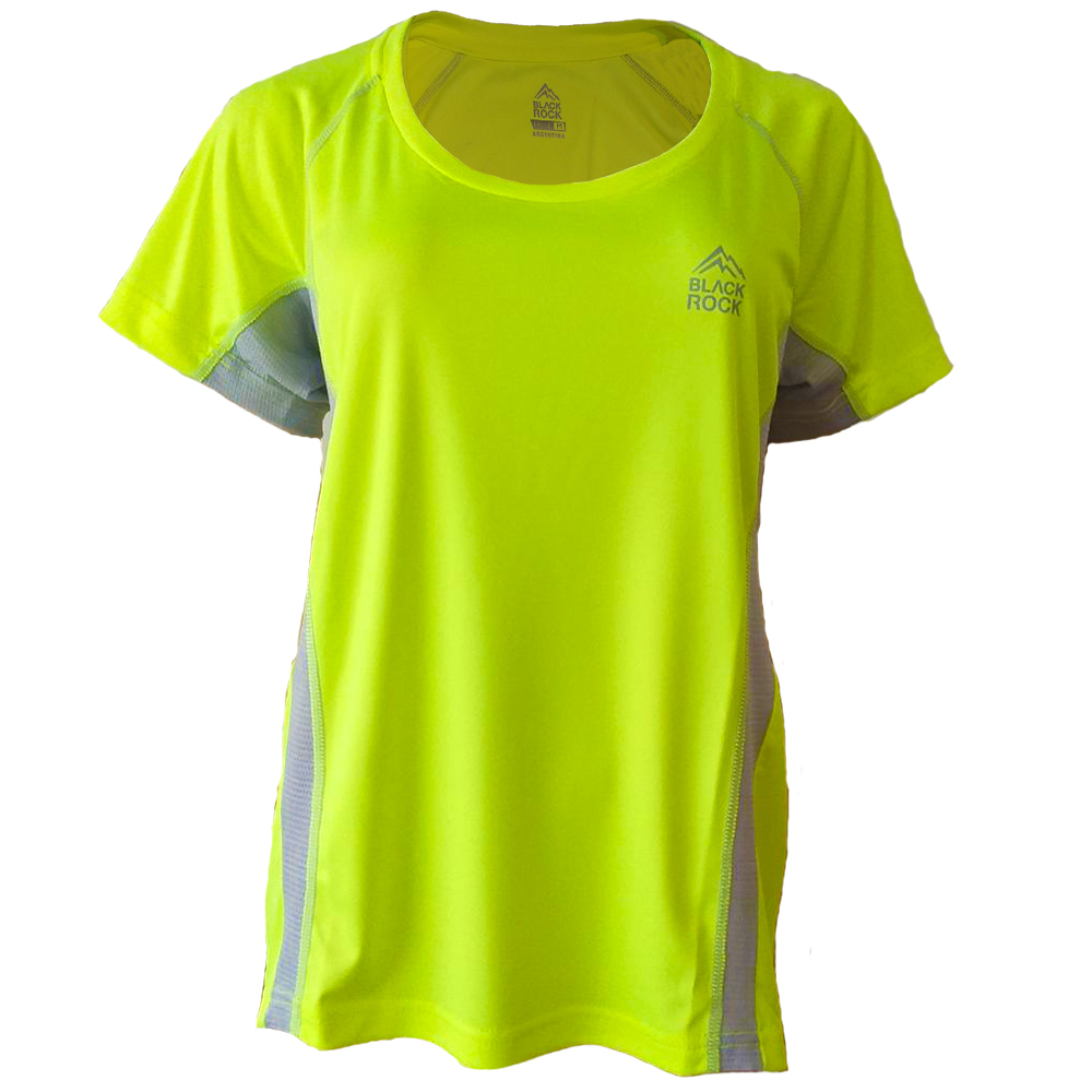 Remera Running DAMA AMARILLO - Black Rock - RRDO1
