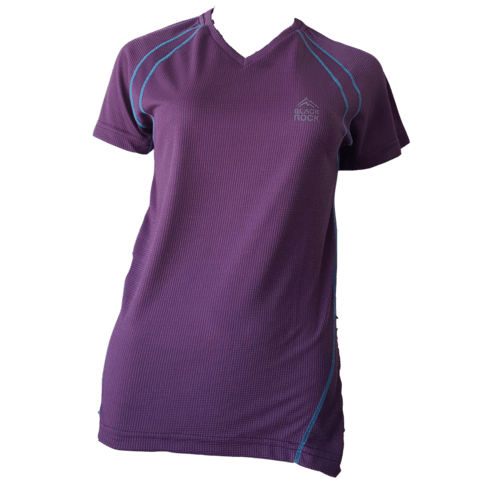 Remera Running - DAMA Mora - Black Rock - RRDV