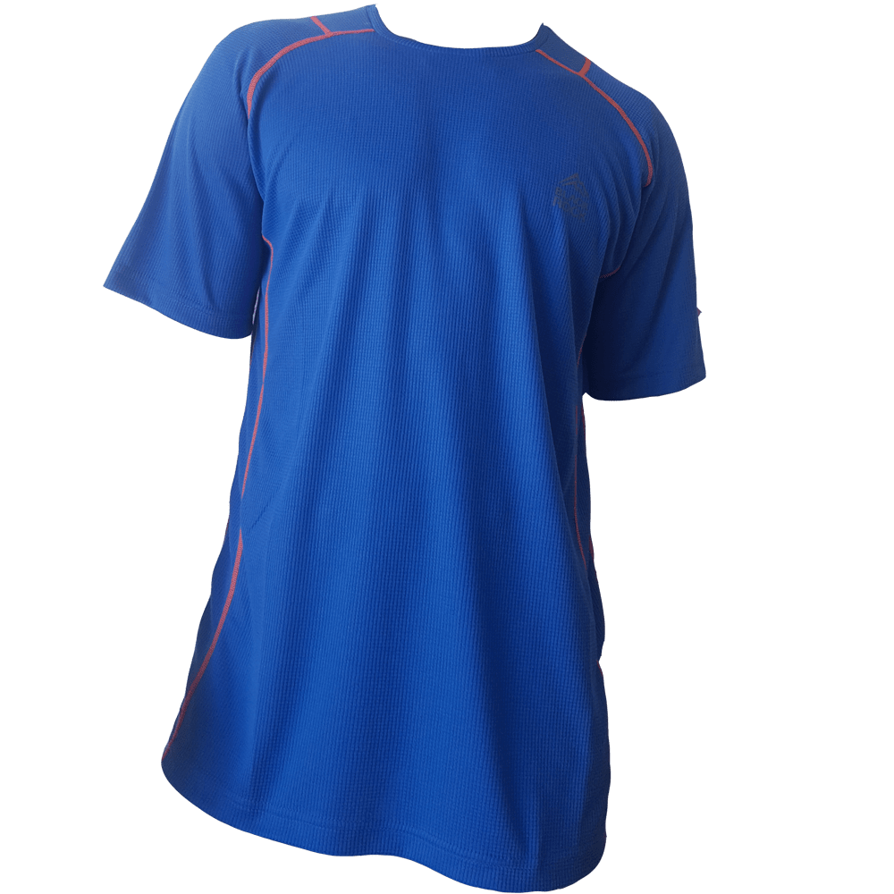 Remera Running CABALLERO Aero - Black Rock - RRH