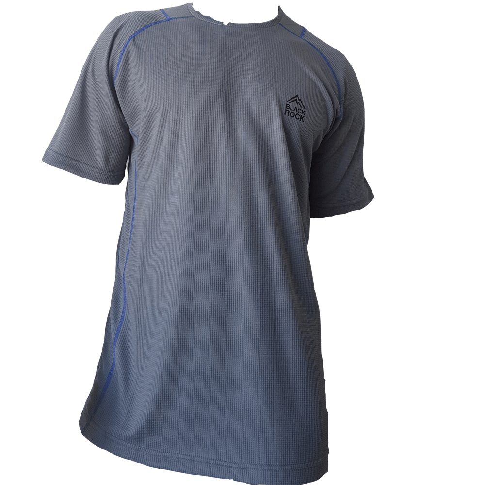 Remera Running CABALLERO Gris - Black Rock - RRH