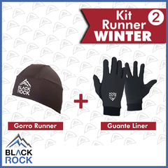 KIT 2 Run Winter   - BLACK ROCK