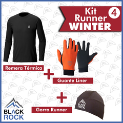 KIT 4 Run Winter   - BLACK ROCK