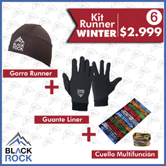 KIT 6 Run Winter   - BLACK ROCK