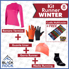 KIT 8 Run Winter   - BLACK ROCK