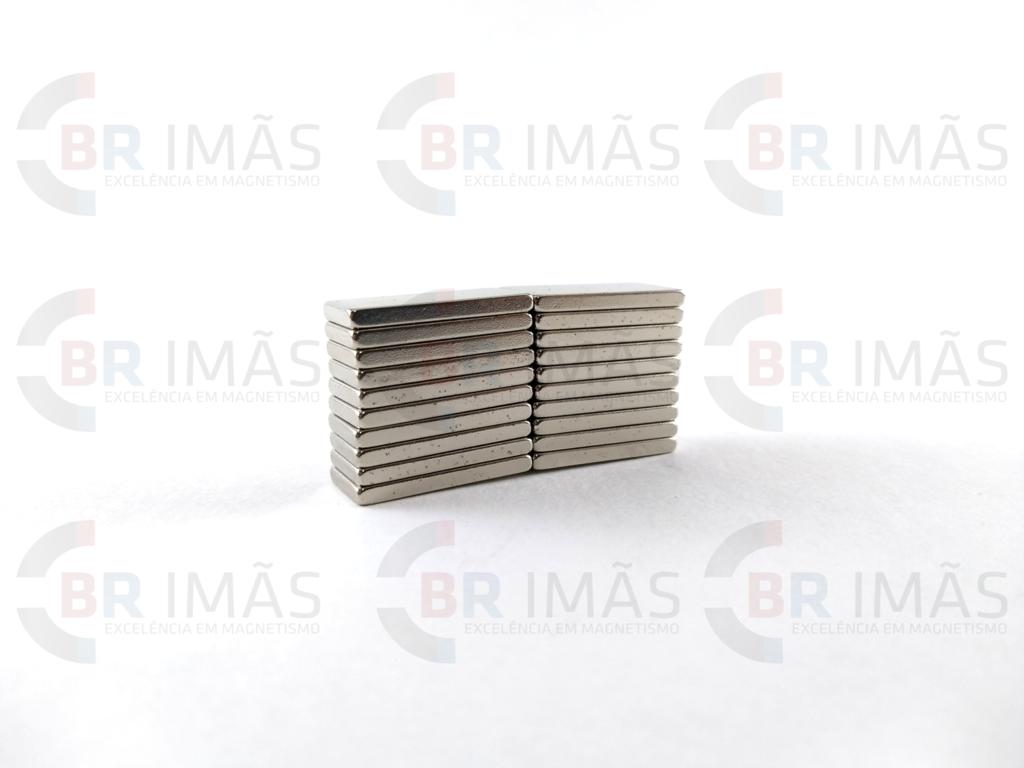 b109c8bcdc5 Imã Neodímio N35 20x10x2mm - Bloco - comprar online