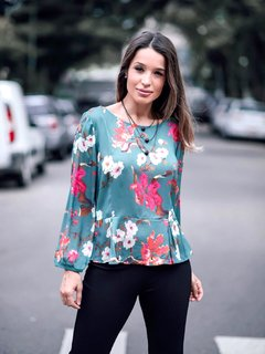 Blusa Floral Chic - 1271 na internet