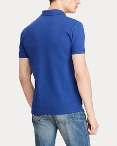 Polo Ralph Lauren Azul Royal Custom Fit - comprar online