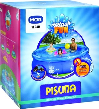 Piscina Splash Fun 4600L - Mor