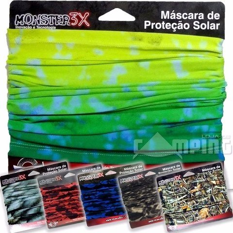 Buff Estampado - Monster 3x - comprar online