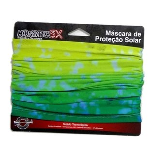 Buff Estampado - Monster 3x