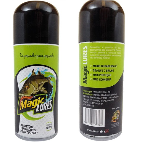 Renovador de Iscas Artificiais Magic Lures 150ML- Monster 3x