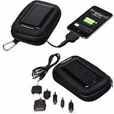 Carregador de Celulares Solar Power Bank - Guepardo