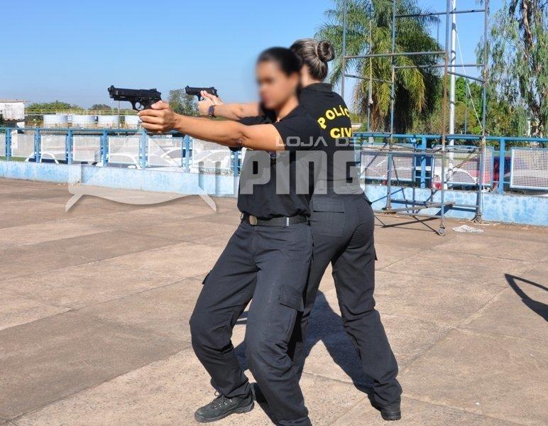 b2539e0af9 Calça Tatica 6 Bolsos Rip Stop Feminina Preta - Fox Boy - comprar online