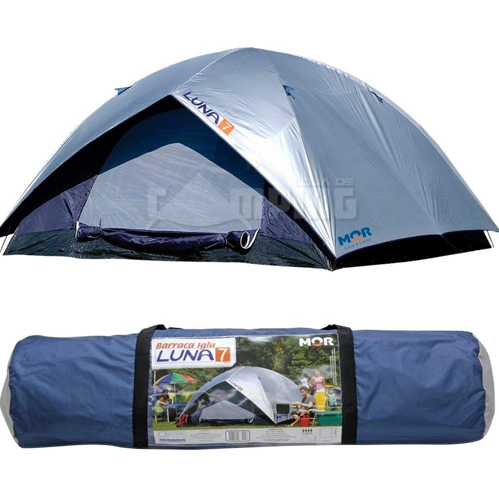 a8656631d Barraca de Camping 7 Pessoas LUNA - MOR