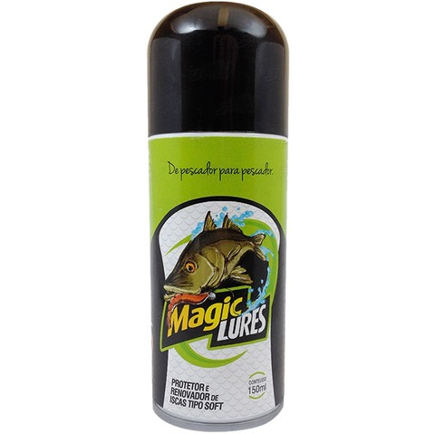 Renovador de Iscas Artificiais Magic Lures 150ML- Monster 3x - Loja de Camping