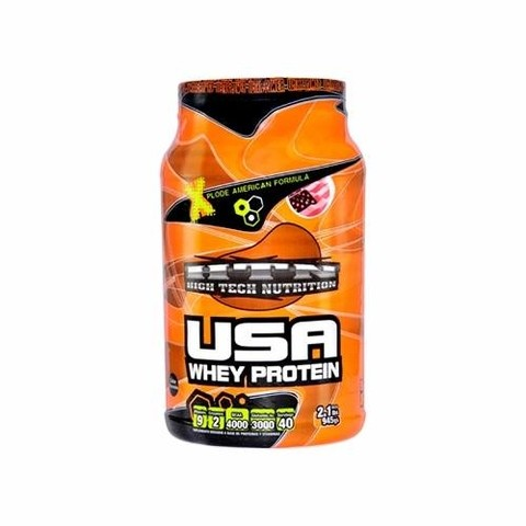 Usa Whey Protein Importada 1710 Grs Htn Monfit