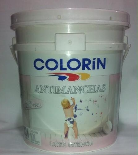 Latex antimanchas Premium colorin x 20 litros