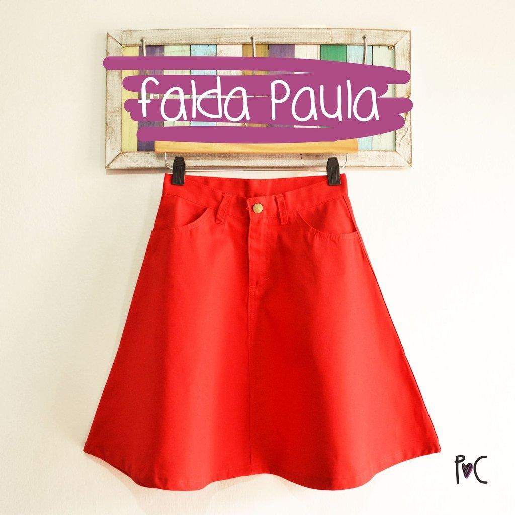 721ec9dc2c Falda Paula Roja - Comprar en Pollo y Cuy