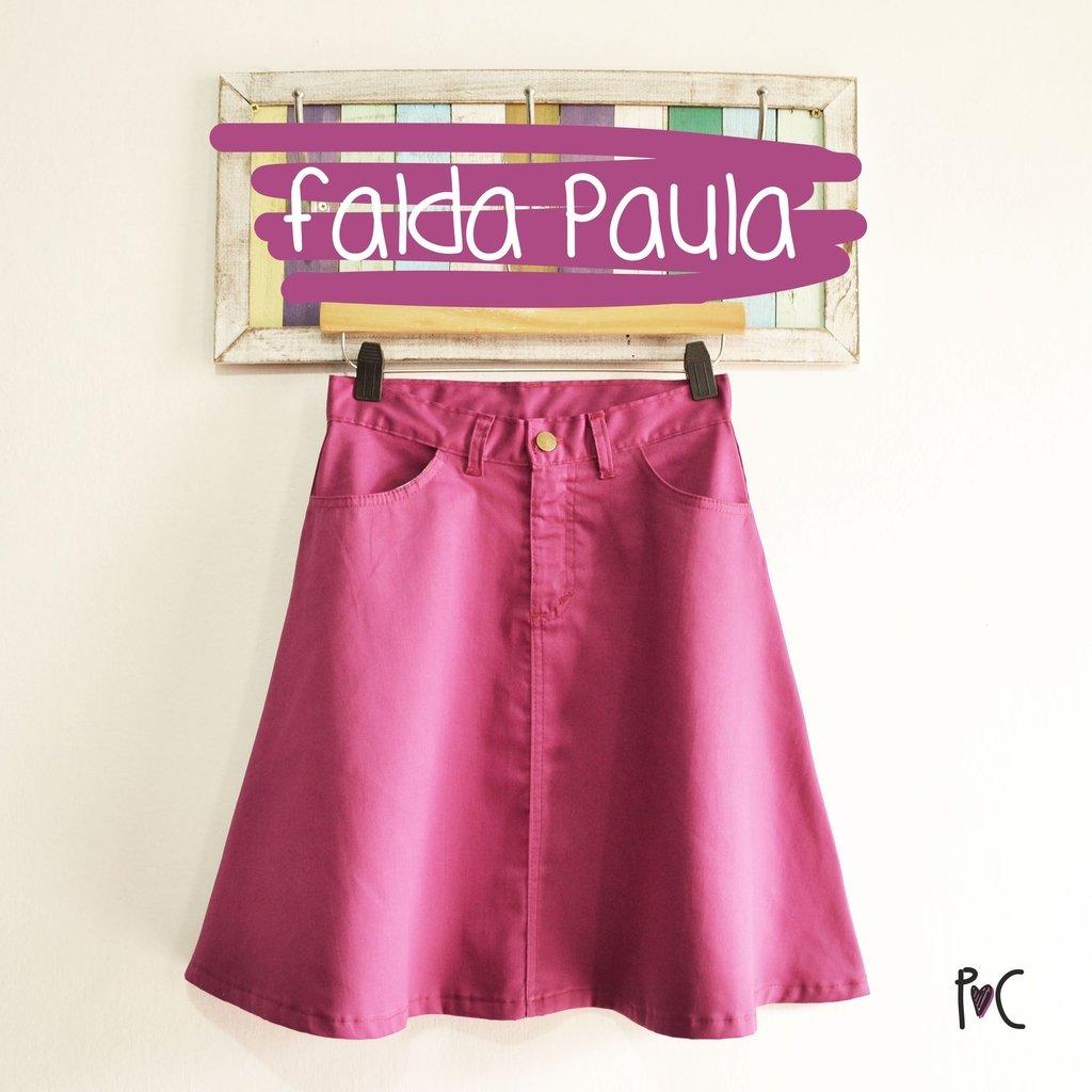 982622f082 Falda Paula Violeta - Comprar en Pollo y Cuy