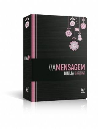 Bíblia A Mensagem - Semi-Luxo Preta