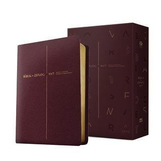 Bíblia de Estudo NVT (VINHO)